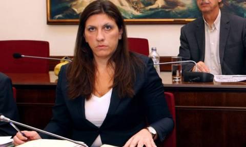 Ζωή καλεί Στουρνάρα στην Επιτροπή Θεσμών και Διαφάνειας την Τρίτη