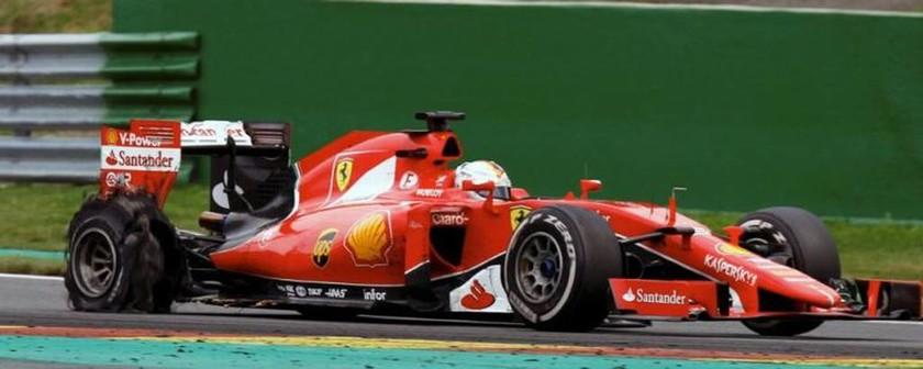 Την τακτική του ενός pit stop προσπάθησε να εφαρμόσει η Ferrari αλλά το ρίσκο δεν