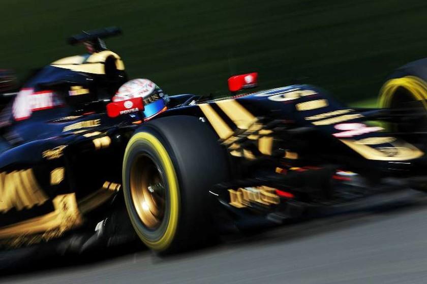 Η ατυχία του Vettel έγινε τύχη για τον Grosjean, ο οποίος είχε να ανέβει στο podium από το 2013