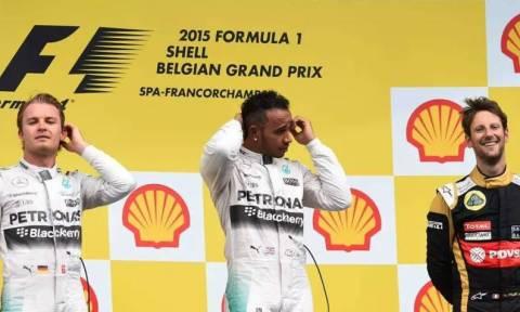 F1 Grand Prix Βελγίου: Βήμα προς τον τίτλο για τον Hamilton (photos)