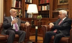 Στον Πρόεδρο της Δημοκρατίας το πρωί της Δευτέρας ο Μεϊμαράκης