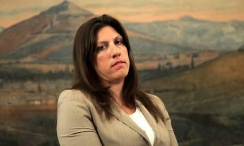 Κωνσταντοπούλου: Δεν κλείνει η Βουλή αν δεν έρθει ο Στουρνάρας