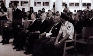 Σαν σήμερα το 1975 καταδικάζονται σε θάνατο οι Παπαδόπουλος, Παττακός και Μακαρέζος
