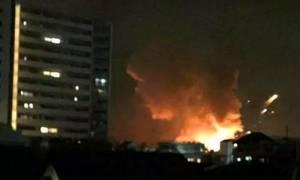 Ισχυρές εκρήξεις σε αμερικανική βάση στην Ιαπωνία (video)