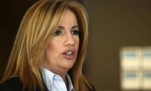 Πρόωρες εκλογές: Φώφη Γεννηματά: «Οι πολίτες θα πληρώσουν Ειδικό Φόρο Τσίπρα»