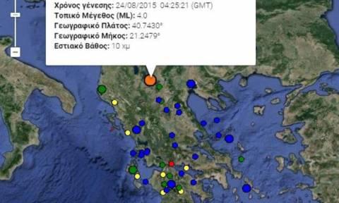 Σεισμός 4 Ρίχτερ «ξύπνησε» τη Φλώρινα