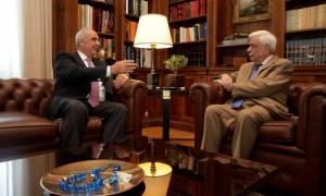 Εκλογές - Μεϊμαράκης σε Παυλόπουλο: Υπάρχει ακόμη χρόνος για εθνική συνεννόηση