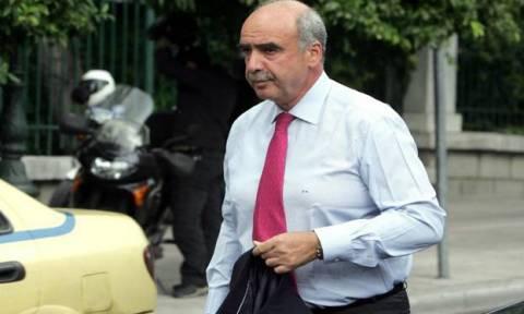 Εκλογές 2015-Μεϊμαράκης: Να συγκληθεί το συμβούλιο των Πολιτικών Αρχηγών