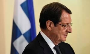 Αναστασιάδης: Χαιρέτισε την συμπαράσταση της ελληνικής κυβέρνησης στο κυπριακό