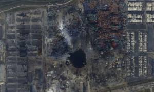 Κίνα: 12 συλλήψεις για τις πολύνεκρες εκρήξεις στην Τιαντζίν