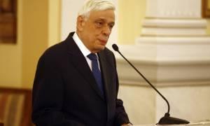 Πρ. Παυλόπουλος: «Αδιαπραγμάτευτη η πορεία της Ελλάδας εντός της Ευρωζώνης» (pics)