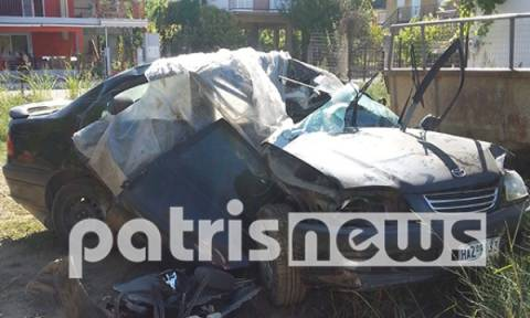 Ηλεία: Νεκρός 37χρονος σε τροχαίο