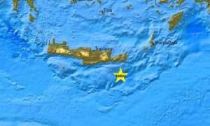Ιεράπετρα: Νέα σεισμική δόνηση 3,9 Ρίχτερ
