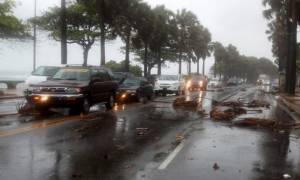Αϊτή: Η τροπική καταιγίδα Ερικα έπληξε το νησί Δομινίκα (video)