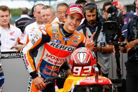 MotoGP Grand Prix Βρετανίας: Pole Position και ρεκόρ για Marquez (photos)