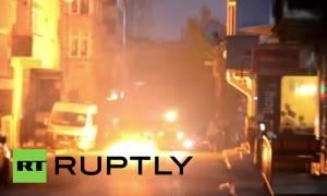 Τουρκία: Ολονύκτιες βίαιες συγκρούσεις στην Κωνσταντινούπολη (video)