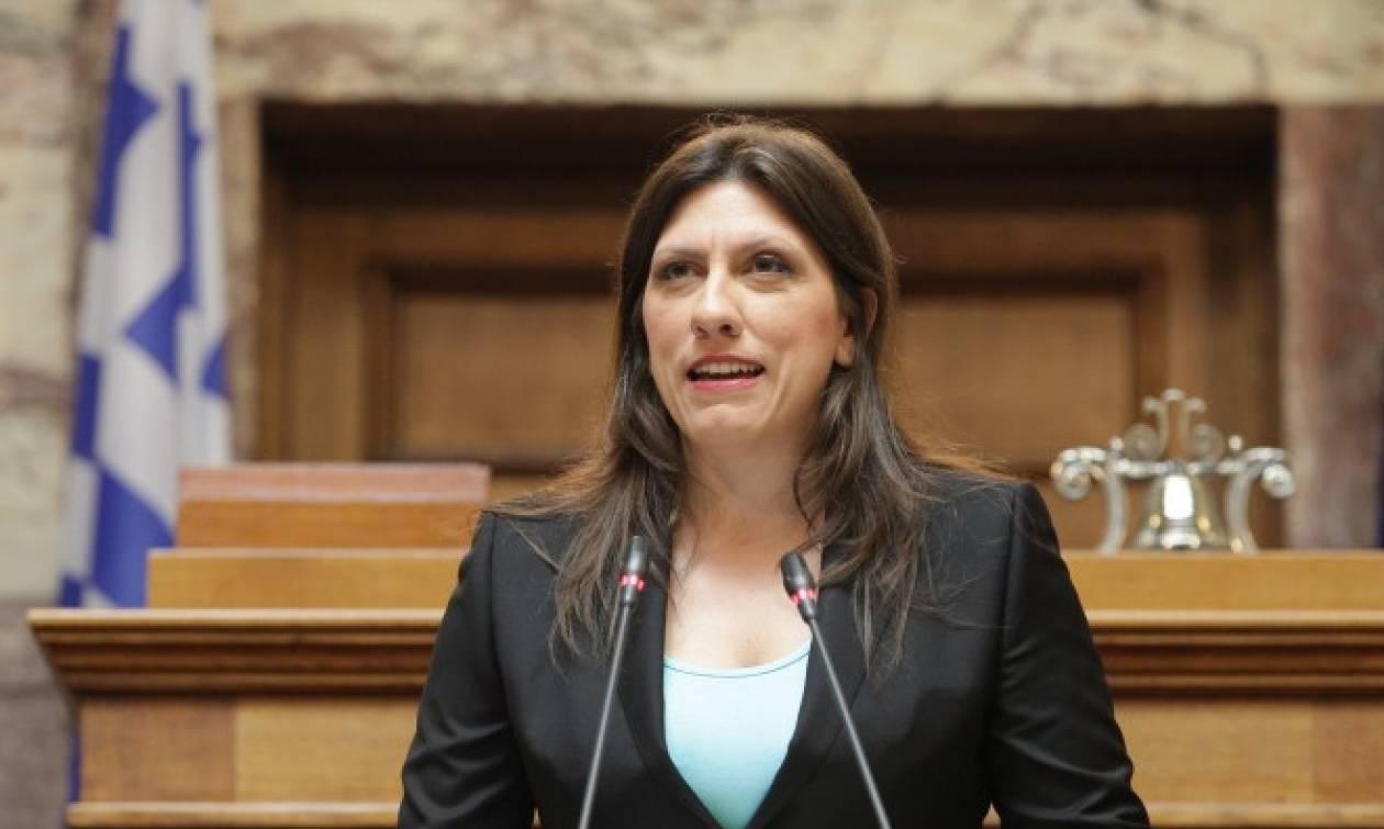 LIVE: Η Κωνσταντοπούλου ανοίγει τα προεκλογικά χαρτιά της