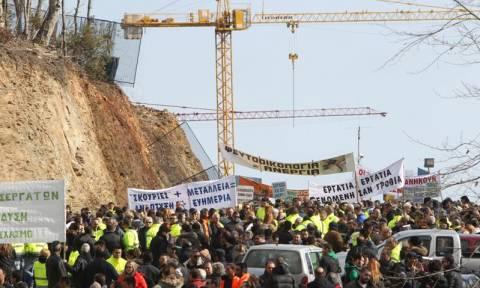 Χαλκιδική: Κατέλαβαν το μεταλλείο της Ολυμπιάδας οι εργαζόμενοι