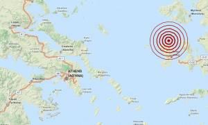 Σεισμός 3,5 Ρίχτερ βόρεια της Χίου (pic)