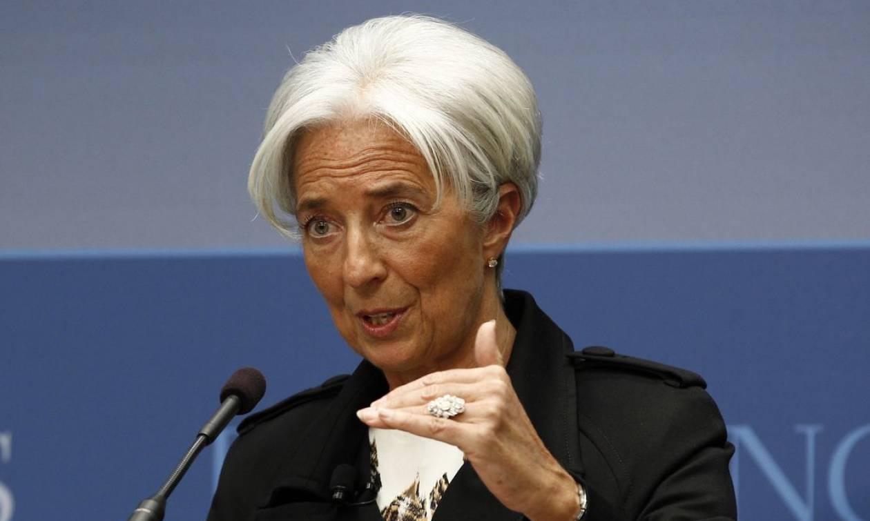Προειδοποίηση Λαγκάρντ για τη διάχυση των κινδύνων από την αστάθεια των αγορών στην Ασία