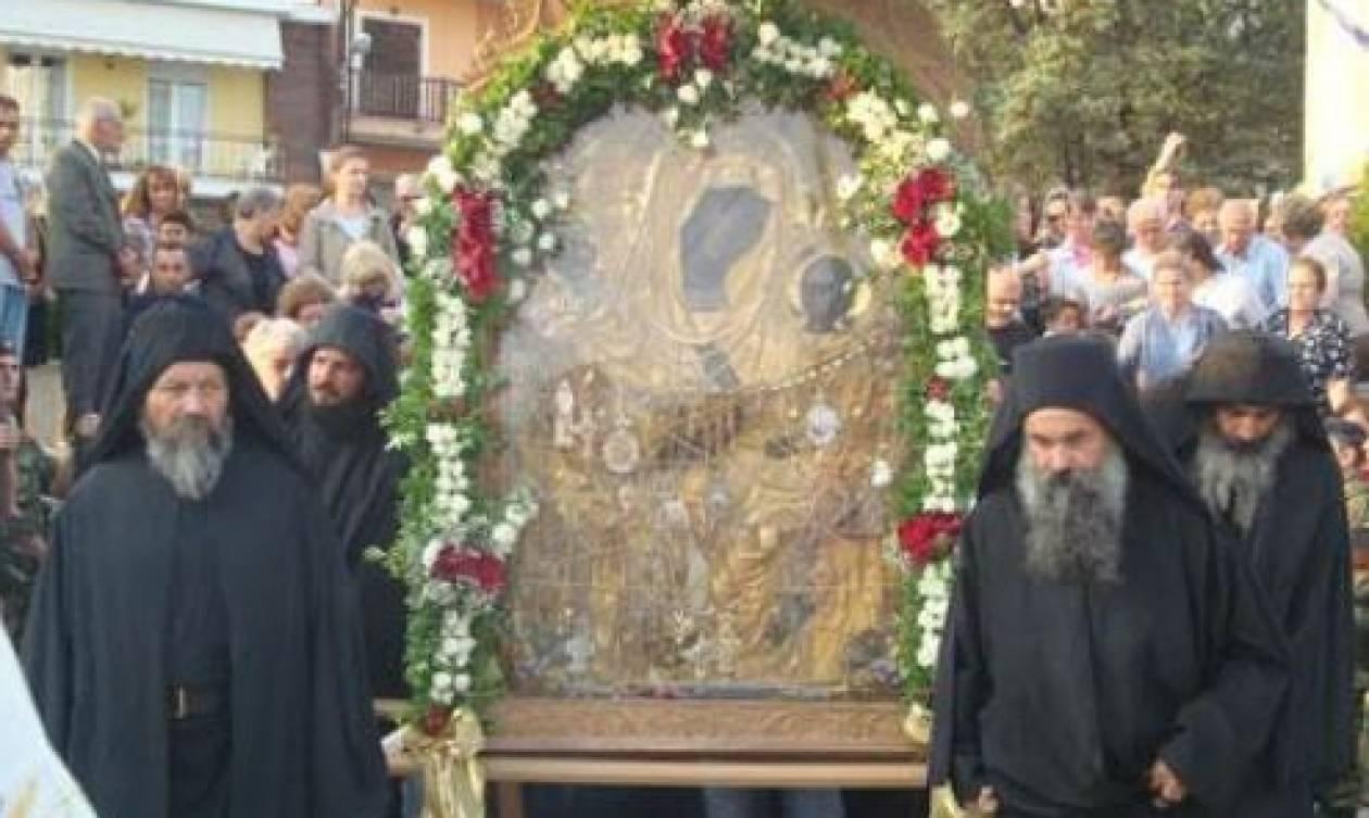 Η θαυματουργή εικόνα της Παναγίας Γοργοϋπηκόου στη Θεσσαλονίκη