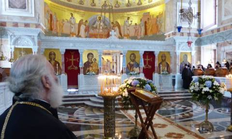 Ο Πατριάρχης Αλεξανδρείας στη Σιβηρία