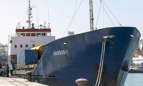 Ηράκλειο: Βρέθηκε οπλισμός – «μαμούθ» στο φορτηγό πλοίο HADDAD 1 (photos)
