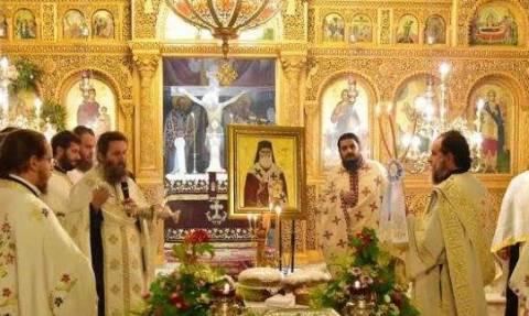 Τα λείψανα του Αγ. Νεκταρίου επισκόπου Πενταπόλεως του Θαυματουργού στο Ναύπλιο