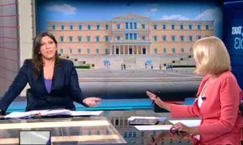 Κωνσταντοπούλου - Κοσιώνη: Φινάλε στη συνέντευξη με…βέλη
