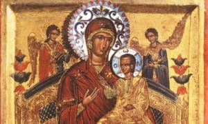 Στη Ρωσία η εικόνα της Παντάνασσας που αγιογραφήθηκε στο Άγιον Όρος