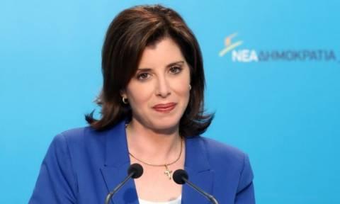 Μετεκλογικές συνεργασίες με «όλες τις δυνάμεις του δημοκρατικού τόξου» προτείνει η Ασημακοπούλου