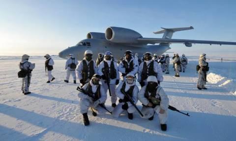 Πρώτη μεγάλη ρωσική στρατιωτική άσκηση στην Αρκτική