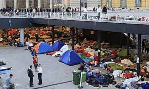 «Κόλαση» στη Βουδαπέστη, χτύπησαν πρόσφυγες! (video)