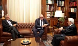 Συνάντηση Παυλόπουλου – Τίμερμανς για το μεταναστευτικό