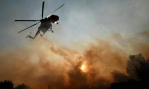 Σε εξέλιξη πυρκαγιά σε περιοχή της Σητείας Λασιθίου