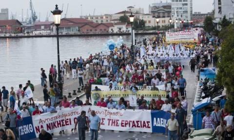 ΔΕΘ 2015: Τα συλλαλητήρια και οι πορείες στη Θεσσαλονίκη