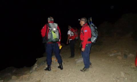 Περιπέτεια για ζευγάρι oρειβατών στον Ψηλορείτη
