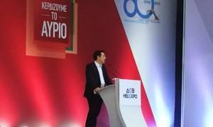 ΔΕΘ 2015 - Τσίπρας: Ή με εμάς ή με τους επαίτες της Ευρώπης