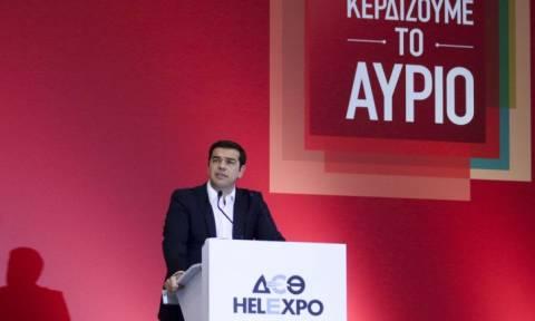 Το Newsbomb στη ΔΕΘ: Πρόγραμμα... οκταετίας από τον Αλέξη Τσίπρα