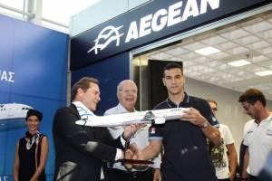 Η AEGEAN με υπερηφάνεια ανακοινώνει την υποστήριξή της στις Εθνικές Ομάδες Μπάσκετ