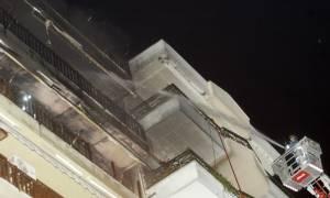 Στις φλόγες διαμέρισμα στο Χαλάνδρι