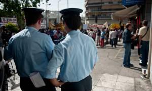 Συγκέντρωση έξω από τις φυλακές Κορυδαλλού, λόγω επανέναρξης της δίκης της Χ.Α.