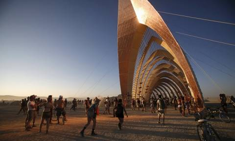 Burning Man Festival στη Νεβάδα (photos)