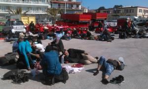 Μυτιλήνη: Περισσότεροι από 10.000 πρόσφυγες αναμένεται να εγκαταλείψουν το νησί σε ένα 24ωρο