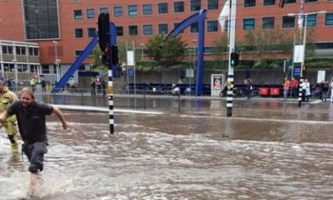 Πανικός στο Άμστερνταμ - Εκκενώθηκε νοσοκομείο από σπασμένο αγωγό ύδρευσης
