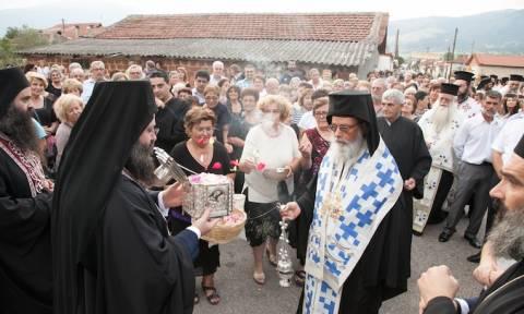 Η Τιμία Κάρα της Αγίας Παρασκευής στo Νευροκόπι