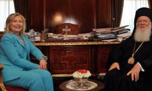 Εθνικός Κήρυκας Νέας Υόρκης: Γιατί η Χίλαρι αγωνιά για τον Οικουμενικό Πατριάρχη;