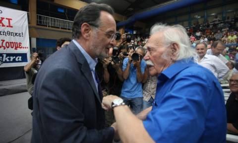 Επικεφαλής του ψηφοδελτίου Επικρατείας της Λαϊκής Ενότητας ο Μανώλης Γλέζος