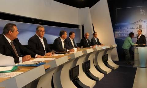Εκλογές 2015: To debate των πολιτικών αρχηγών
