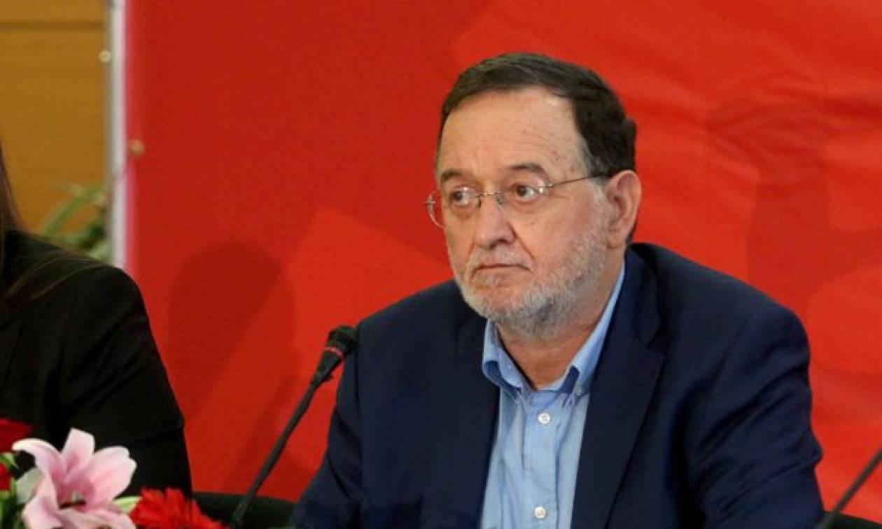 Λαφαζάνης: Η έξοδος της Ελλάδας από την ευρωζώνη δεν είναι καταστροφή